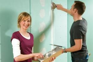 Mit Gipskarton lassen sich auch im Keller ohne großen Aufwand neue Räume schaffen. Foto: djd/Knauf Bauprodukte